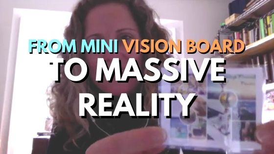 From MINI vision board to MASSIVE reality!!